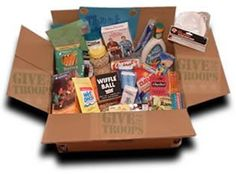 military care packages 101 - tips on what to send and how to send it.