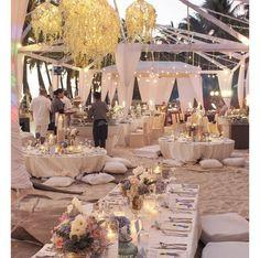 Gab Valenciano and Tricia Centenera's Beach Wedding Reception