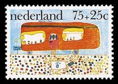 Zeven tekenaars van de kinderpostzegels 1976 en 1988 gezocht
