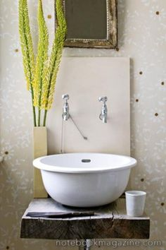 Wabi Sabi design: finding beauty in all things modest and humble...I could get behind this!