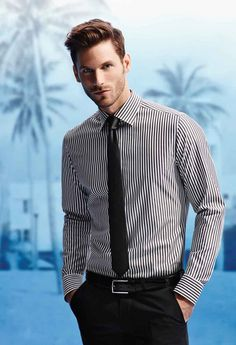 Shirt And Tie Combinations, Smart Styles, Business Outfit, Mens Fashion Suits, Men Style Tips, Gentleman Style, Hot Guys, Men's Outfits, Style Inspiration