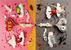 kleenex feelings campaign by Gail Armstrong, via Behance