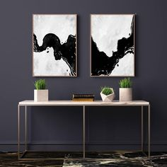 "Get fantastic zeiger, man ""modern abstract art-gesicht"". They are zugänglich fo… Oversized Canvas Art, White Canvas Art, Abstract Canvas Art, Black And White Artwork, Black And White Abstract, Modern Art Movements, Contemporary Abstract Art, Art Paintings, Abstract Paintings"