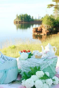 Tea at the lake