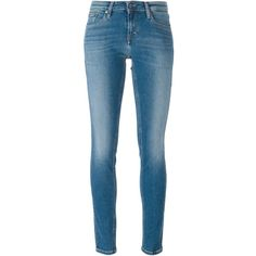 Calvin Klein Jeans skinny jeans ($125) ❤ liked on Polyvore