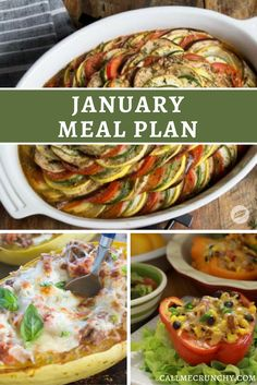 January Meal Plan | Call Me Crunchy | mywildtree.com/alixkalfin