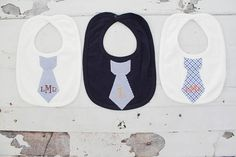 Personalized Tie Bib. Darling Baby Boy Birthday Gift. Easter or Birthday in Style, or handsome Photograph Prop. Wedding accessory. Any Tie Bib. ********** Please indicate the following in Note to Seller upon check-out: Name for embroidery or FULL name for monogram letters Script