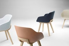 """For the first time a chair is carved out of 100% biodegradable plastic and its called """"Kuskoabi"""". An Eco-friendly chair designed by Jean Louis Iratzoki. Kuskoabiwas launched at the """"art"""