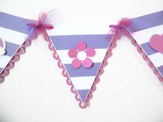 Banderines de fiesta Dra. Juguetes #FiestaInfantil