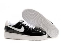 new concept eed7a 832c2 Nike Store. Nike Air Force 1 Low MensWomens Slam Jam Shoes - BlackWhite