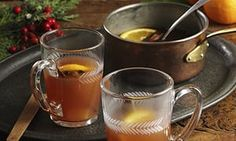 Jared Brown's hot mulled sloe gin