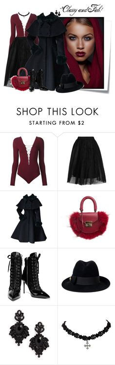 """""""...."""" by elenb ❤ liked on Polyvore featuring Post-It, T By Alexander Wang, Topshop, SALAR, Giuseppe Zanotti, Gucci and Tasha"""