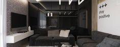 Inspiring Black Living Room Designs | Home Decor Ideas