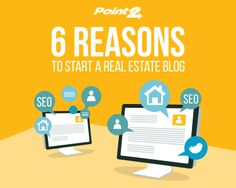 A real estate blog can add more value to your business than you might think. http://www.point2homes.com/agent-websites/blog/2016/05/26/6-reasons-to-start-a-real-estate-blog/