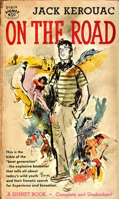 jack kerouac on the road again [about the book & covers]
