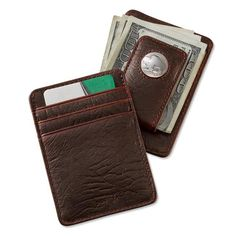 fc3226c79ce1 Just found this Magnetic Leather Money Clip - Bison Buffalo-Nickel Money  Clip --