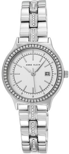 Women's Anne Klein Crystal Bezel Bracelet Watch, 30Mm