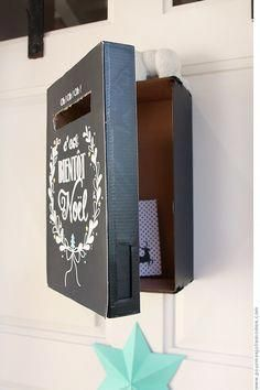 for my pretty kids, but not that .: The mailbox of the advent (ca . Check more at https:/. for my pretty kids, but not that .: The mailbox of the advent (ca . Merry Christmas And Happy New Year, Kids Christmas, Christmas Crafts, Merry Xmas, Diy Gift Box, Diy Box, Diy Kalender, Calendrier Diy, Diy Xmas
