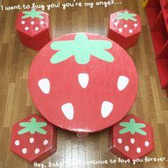 ダンボールで子供のテーブル の画像 手作りおもちゃで子育て