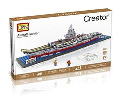 LOZ Diamond Block Creator Series - Aircraft Carrier