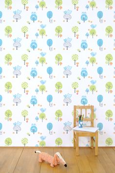 Fabel wallpaper Tis Lifestyle  # unisex # baby #nursery