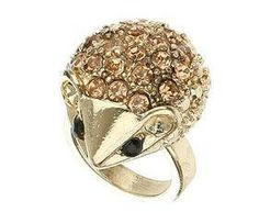Encrusted Hedgehog Ring - New In This Week - New In - Topshop - StyleSays Jewelry Shop, Jewelry Necklaces, Funky Fashion, Animal Jewelry, Bracelets, Heart Ring, Topshop, Women Jewelry, Bling