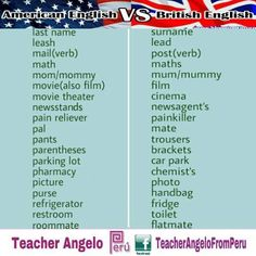 73 Best American-British English images in 2016   English