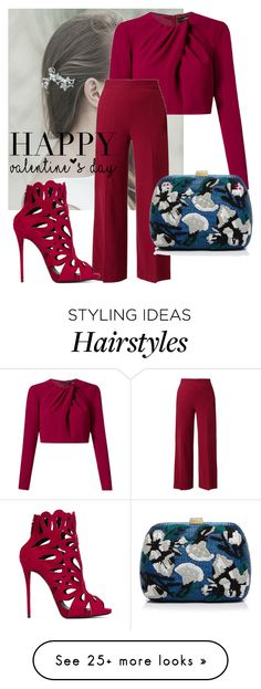 """""""Untitled #225"""" by bellatrix87 on Polyvore featuring Andrea Marques, The Row, Giuseppe Zanotti, Serpui, women's clothing, women, female, woman, misses and juniors"""