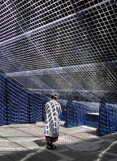 shigeru ban reverberation pavilion of light and sound venice art biennale