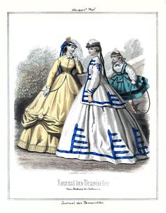 1865 Journal des Demoiselles