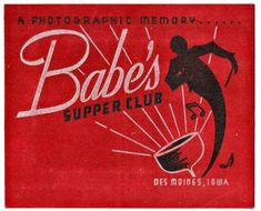 Supper Club, Iowa, Movie Posters, Movies, Films, Film Poster, Cinema, Movie, Film