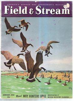 FIELD AND STREAM MAGAZINE JANUARY 1949 LYNN BOGUE HUNT WHY HUNTERS URGE