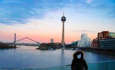 Düsseldorf, the cartwheeling city
