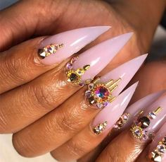50 Acrylic Nail Designs For Spring / Summer 2018