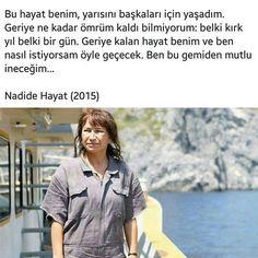 * Demet Akbağ (Nadide Hayat) Wayfarer, Mens Sunglasses, Movies, People, Women, Man Sunglasses, Women's, Films, Movie Quotes