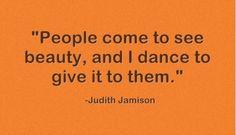Dancers...