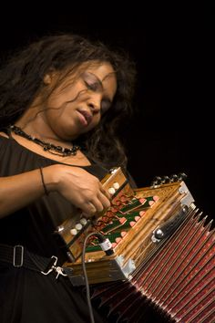 Rosie Ledet, Louisiana native has been playing zydeco and two-step-style accordion since her teens.