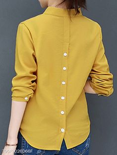 Blouse Neck Blouse And Skirt Tunic Blouse Shirt Blouses Simple Frock Design Dress Neck Designs Blouse Designs Office Blouse Blouse Styles Kurti Neck Designs, Blouse Designs, Hijab Fashion, Fashion Dresses, Shirt Blouses, Shirts, Mode Kimono, Vetement Fashion, Designs For Dresses