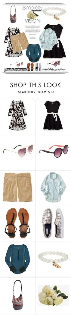 """Simplicity"" by carolstos on Polyvore featuring moda e Aéropostale"
