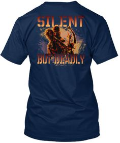 acaac069 Bow Hunting - Silent But Deadly T Shirt Hunting Humor, Hunting Shirts, Bow  Hunting