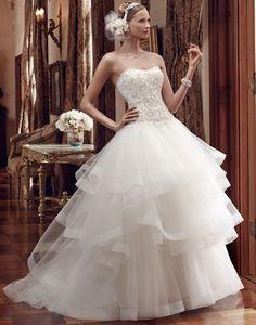 Casablanca Bridal Style #2199. Available @ LOWS BRIDAL.