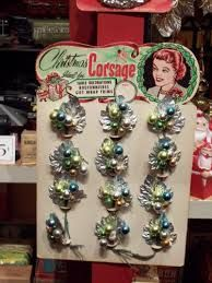 Image result for vintage christmas corsages