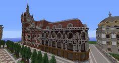 Vitruvian City Minecraft Project