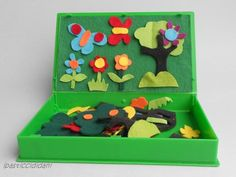 DIY Felt Board Box Pinned by Child Care Aware of Southern Missouri