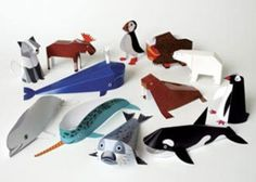 3d paper crafts for kids   Art Design and Craft