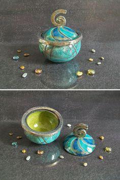 barattoli ceramica raku contenitori portagioie in ceramica