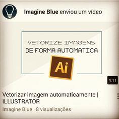 Vídeo novo lá no canal. Da uma conferida. Aproveite pra se inscrever e deixar seu gostei. (Link na bio)  http://youtube.com/c/imagineblue  #Illustrator #adobe #youtuber #ImagineBlue #tutorial #HowToMake #Vector