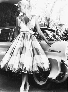 Here's one of our oldest Tori Richard vintage photo from 1958.