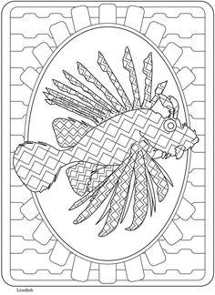 Creative Haven Sealife Designs Coloring Book