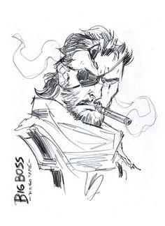 BigBoss? #metalgearsolid #konami #kojima #venom #snake #bigboss